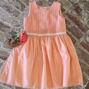Other - Cute peach colored girls dress